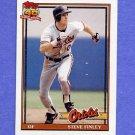 1991 Topps Baseball #212 Steve Finley - Baltimore Orioles NM-M