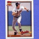 1991 Topps Baseball #212 Steve Finley - Baltimore Orioles ExMt