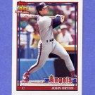 1991 Topps Baseball #176 John Orton - California Angels