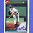 1991 Topps Baseball #116 Mark Davis - Kansas City Royals ExMt
