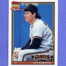 1991 Topps Baseball #104 Don Robinson - San Francisco Giants