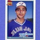 1991 Topps Baseball #101 Rob Ducey - Toronto Blue Jays