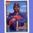 1991 Topps Baseball #093 Ivan Calderon - Chicago White Sox
