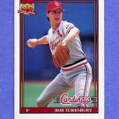 1991 Topps Baseball #088 Bob Tewksbury - St. Louis Cardinals