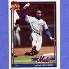 1991 Topps Baseball #083 Daryl Boston - New York Mets