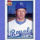 1991 Topps Baseball #058 Mel Stottlemyre Jr. - Kansas City Royals