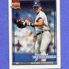 1991 Topps Baseball #028 Alvaro Espinoza - New York Yankees