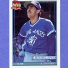 1991 Topps Baseball #026 Luis Sojo - Toronto Blue Jays