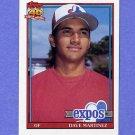 1991 Topps Baseball #024 Dave Martinez - Montreal Expos