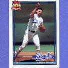 1991 Topps Baseball #022 Storm Davis - Kansas City Royals