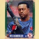 1995 Score Baseball #510 Wes Chamberlain - Boston Red Sox