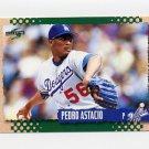 1995 Score Baseball #460 Pedro Astacio - Los Angeles Dodgers