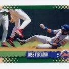 1995 Score Baseball #436 Jose Vizcaino - New York Mets