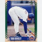 1995 Score Baseball #416 Todd Hundley - New York Mets