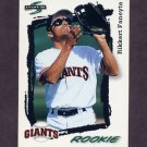 1995 Score Baseball #282 Rikkert Faneyte - San Francisco Giants