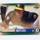 1995 Score Baseball #241 Brent Gates - Oakland A's