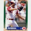 1995 Score Baseball #197 Tom Browning - Cincinnati Reds