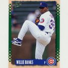 1995 Score Baseball #191 Willie Banks - Chicago Cubs