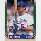 1995 Score Baseball #169 Dave Hansen - Los Angeles Dodgers