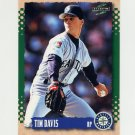 1995 Score Baseball #061 Tim Davis - Seattle Mariners