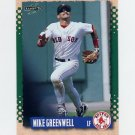 1995 Score Baseball #033 Mike Greenwell - Boston Red Sox