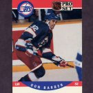 1990-91 Pro Set Hockey #558 Don Barber - Winnipeg Jets