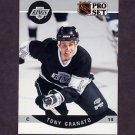 1990-91 Pro Set Hockey #117 Tony Granato - Los Angeles Kings