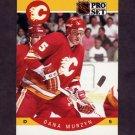 1990-91 Pro Set Hockey #041 Dana Murzyn - Calgary Flames
