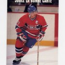 1991-92 Pro Set French Hockey #345 Guy Carbonneau - Montreal Canadiens