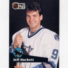 1991-92 Pro Set French Hockey #331 Jeff Hackett - San Jose Sharks