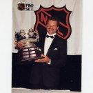 1991-92 Pro Set French Hockey #323 Dirk Graham / Frank J. Selke Trophy