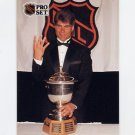 1991-92 Pro Set French Hockey #322 Ray Bourque / James Norris Trophy