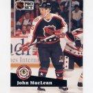 1991-92 Pro Set French Hockey #307 John MacLean AS - New Jersey Devils