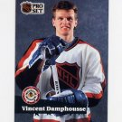 1991-92 Pro Set French Hockey #293 Vincent Damphousse AS - Toronto Maple Leafs