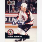 1991-92 Pro Set French Hockey #292 Scott Stevens AS - St. Louis Blues