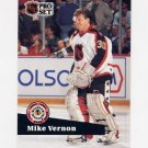 1991-92 Pro Set French Hockey #277 Mike Vernon AS - Calgary Flames