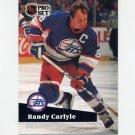 1991-92 Pro Set French Hockey #273 Randy Carlyle - Winnipeg Jets