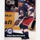 1991-92 Pro Set French Hockey #269 Paul MacDermid - Winnipeg Jets