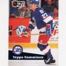 1991-92 Pro Set French Hockey #261 Teppo Numminen - Winnipeg Jets