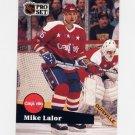 1991-92 Pro Set French Hockey #255 Mike Lalor - Washington Capitals