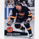 1991-92 Pro Set French Hockey #247 Doug Lidster - Vancouver Canucks