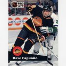 1991-92 Pro Set French Hockey #237 Dave Capuano - Vancouver Canucks