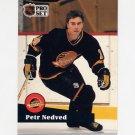1991-92 Pro Set French Hockey #235 Petr Nedved - Vancouver Canucks