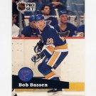 1991-92 Pro Set French Hockey #221 Bob Bassen - St. Louis Blues