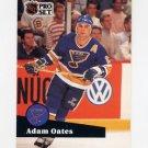 1991-92 Pro Set French Hockey #219 Adam Oates - St. Louis Blues