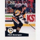 1991-92 Pro Set French Hockey #189 Phil Bourque - Pittsburgh Penguins