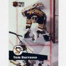 1991-92 Pro Set French Hockey #186 Tom Barrasso - Pittsburgh Penguins