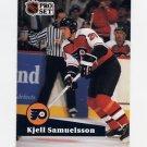 1991-92 Pro Set French Hockey #181 Kjell Samuelsson - Philadelphia Flyers