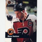 1991-92 Pro Set French Hockey #178 Ron Sutter - Philadelphia Flyers