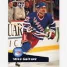 1991-92 Pro Set French Hockey #167 Mike Gartner - New York Rangers